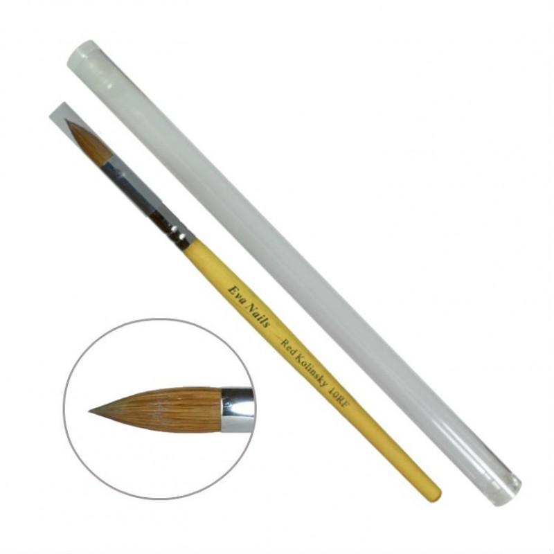 Кисть овальная № 10 (деревянная ручка)